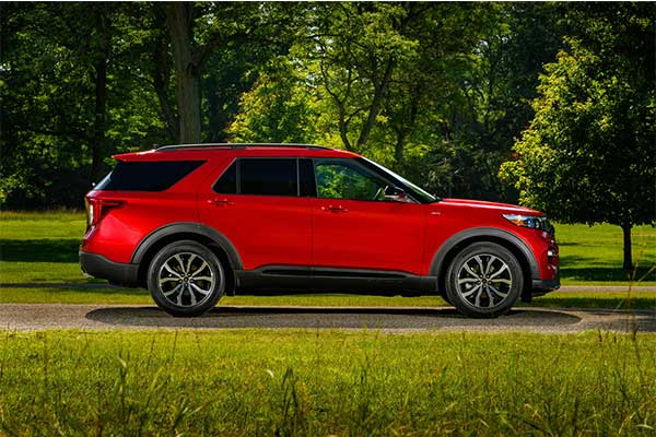 Ford Explorer Goes RWD For 2022 With New ST Trim That Outputs 400hp