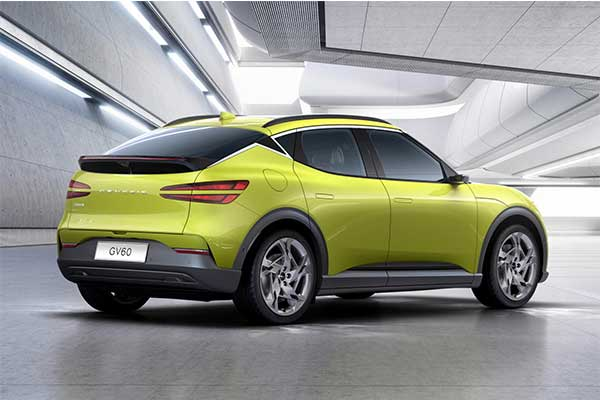 Genesis Go Electric With Launching Of The 2022 GV60 Crossover