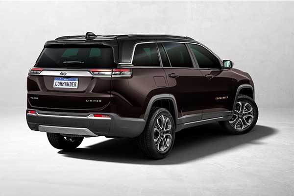 Jeep Launches Commander 7 Seater SUV For South American Market