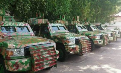 Kebbi Remodels Toyota Land Cruiser SUVs Into Armoured Personnel Carriers To Fight Banditry - autojosh