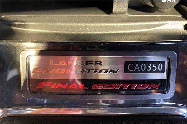 The Last Of A Brand New 2015 Mitsubishi Lancer Evolution Edition Costs As Much As A S-Class