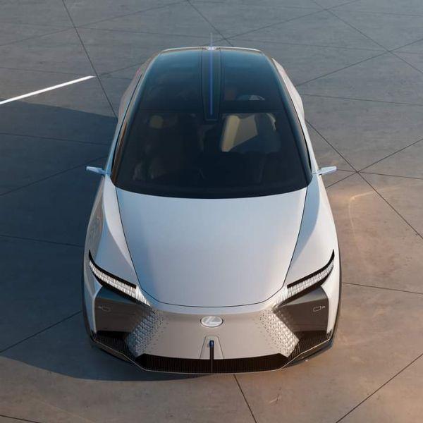 Lexus Shows Off Futuristic Digital Side-view Mirrors On Its Electric LF-Z Concept - autojosh