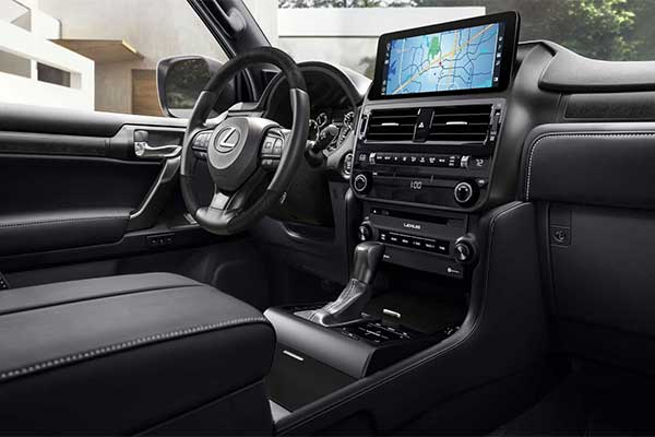 Lexus Updates GX For 2022 With A New Infotainment System