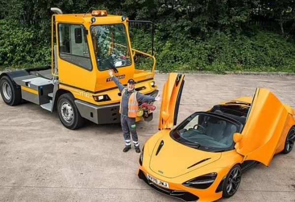 Lorry Driver Uses £25 To Win McLaren 720S Spider Worth £275,000, Plans To Sell It - autojosh