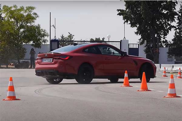 2021 BMW M4 Competition Fails The Famous Moose Test