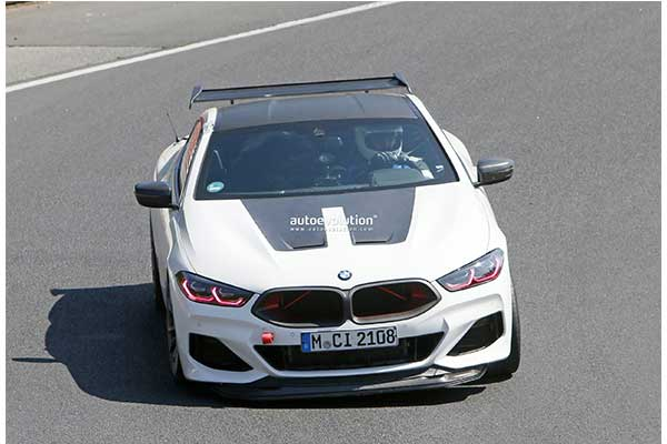 BMW Testing A New M8 Prototype That May Usher Something New