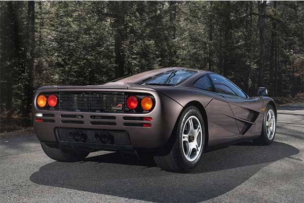 A Mclaren F1 Set A $20m Auction Record Making It The Most Expensive F1 Auction Ever