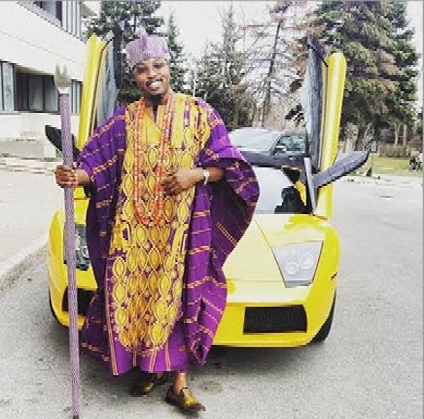 Luxury Cars In Oluwo of Iwoland, Oba Abdulrasheed Akanbi's Garage, Including Rolls-Royce, Lamborghini, Lexus, Innoson - autojosh