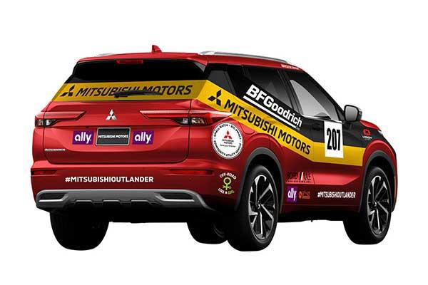 Mitsubishi Returns To Rallying With The 2022 Outlander SUV