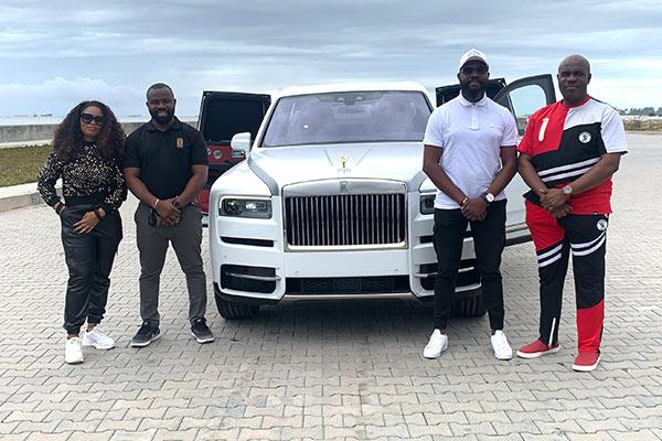 Rolls-Royce Cullinan Test Drive At Azuri Towers Eko Atlantic City Lagos