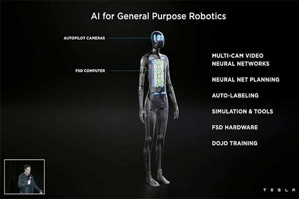 Elon Musk Set To Launch AI Controlled Humanoid Robot Prototype