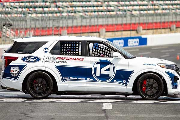 Ford Performance Builds One-Off, Track Ready Explorer ST For Racing Schools