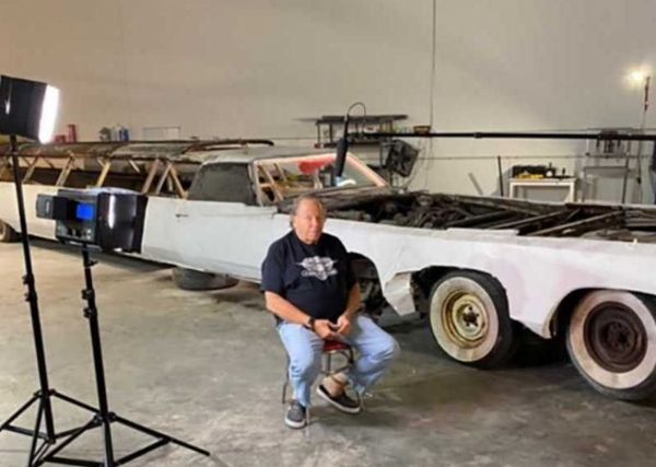 World's Longest Car With Swimming Pool, Helicopter Pad, Rusts Away, Refurbishment On The Way - autojosh