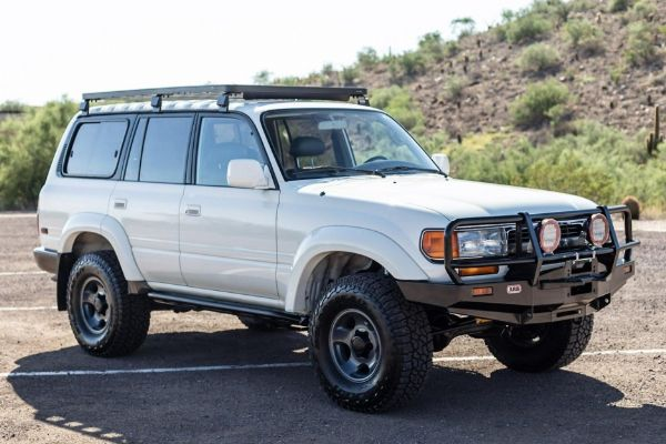 This 1994 Toyota Land Cruiser 80 Series Sold For More Than $78,000 - autojosh
