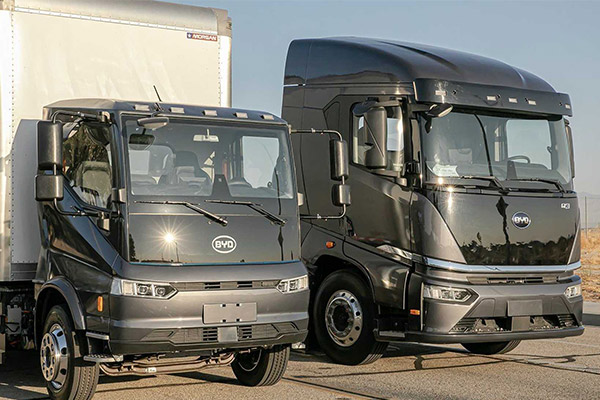 BYD Introduces Next Generation Electric Trucks At ACT Expo (PHOTOS)