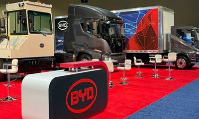 BYD Introduces Next-gen Electric Trucks At ACT Expo - autojosh