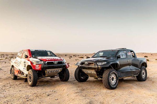 Toyota Plans To Win Dakar 2022 Race With New Toyota GR DKR Hilux T1+ Offroading Truck - autojosh