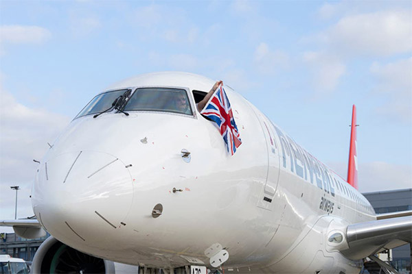 Helvetic Airways Operates London City's Inaugural Commercial E190-E2 Flight (PHOTOS)