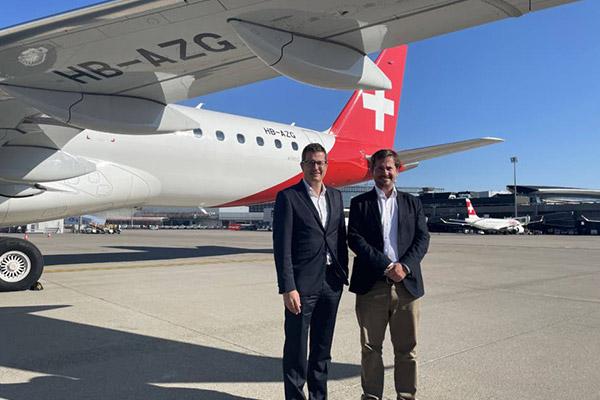 Helvetic Airways Operates London City's Inaugural Commercial E190-E2 Flight - autojosh