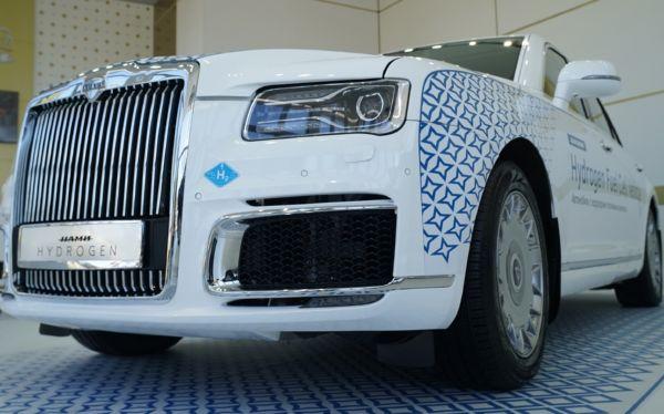 Russia's Hydrogen-Powered Aurus Senat Revealed, Rolls-Royce Rival Goes 600 km On Electric Drive - autojosh