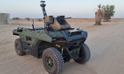 Israeli Firm To Supply Self-Driving Combat Vehicles To UK Armed Forces - autojosh