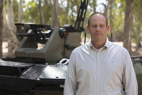 Israeli Firm Unveils Unmanned Vehicle Fitted With Machine Guns That Can Patrol Battle Zones- autojosh
