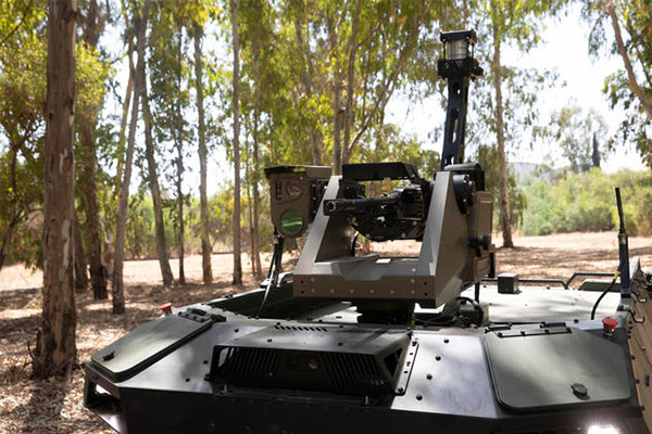 Israeli Firm Unveils Remote-Controlled Armed Robot To Patrol Battle Zones (PHOTOS)