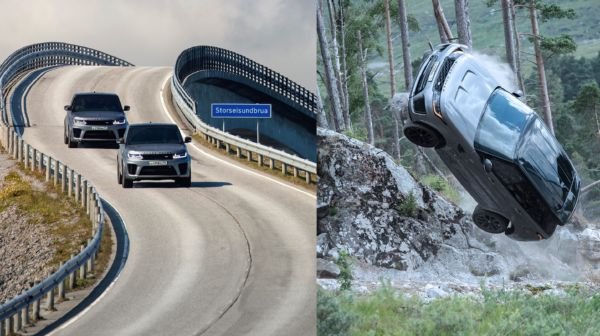 Watch : James Bond Get Chased By Two Range Rover Sport SVRs While Driving A Toyota Prado - autojosh
