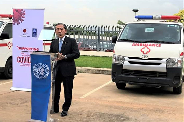 Japan Donates 3 Ambulances To NCDC In The Fight Against COVID-19 (PHOTOS)
