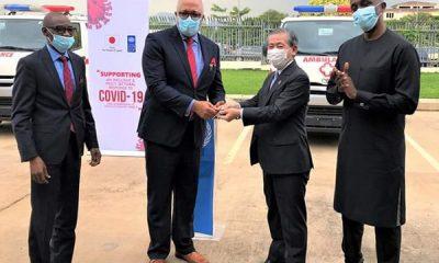 COVID-19 : Japan Donates 3 Ambulances To NCDC - autojosh