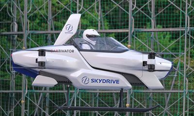Toyota-backed Flying Car Startup, SkyDrive, Looks To Osaka To Help It Take Off - autojosh