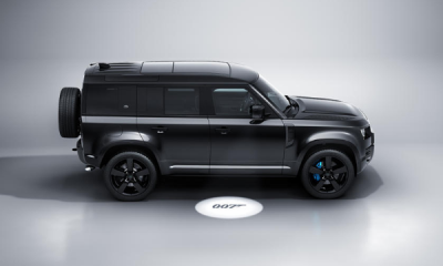 No Time To Die-inspired Land Rover Defender V8 Bond Edition Unveiled, Limited To 300 Units - autojosh