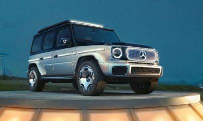 Concept EQG : Mercedes-Benz Reveals An Electric G-Wagon - autojosh