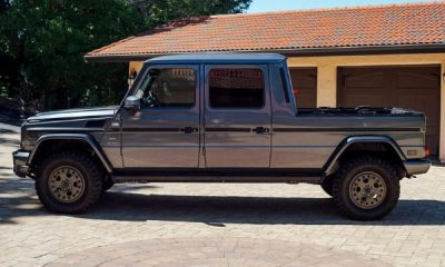 This Rare Mercedes-Benz G-Wagon Pickup Truck Is Up For Sale - autojosh