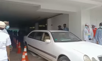 Mercedes E-Class Limousine Spotted At The Grand Opening Of Rev. Esther Ajayi's Mega Church - autojosh