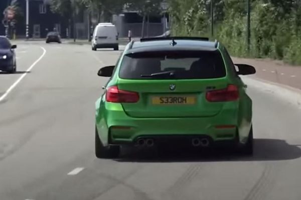 Police Crushes Custom BMW M3 Because It Was Built With Parts Stolen From Two M3's - autojosh
