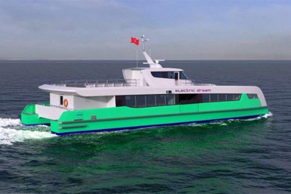 Shell Orders 3 All-Electric Ferries For Singapore Operations (PHOTOS)