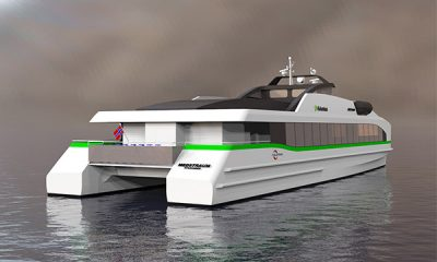 Oil Giant Shell Orders Three 200-seater All-electric Ferries For Singapore Operations - autojosh