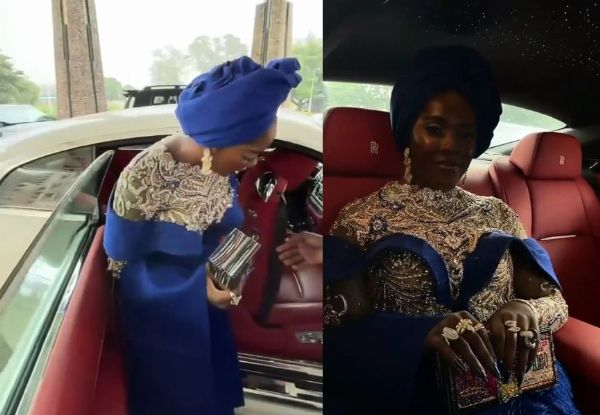 Tiwa Savage Arrive In Style In Rolls-Royce Wraith As Singer Buries Dad - autojosh