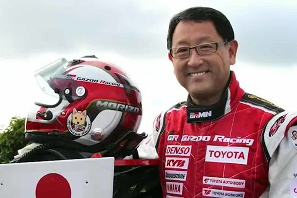 Toyota President, Akio Toyoda Drives Hydrogen-powered Corolla At An Endurance Race - autojosh