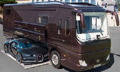 Volkner Mobil Performance S Is A $2.4M Motorhome With A Garage For A Bugatti Chiron - autojosh