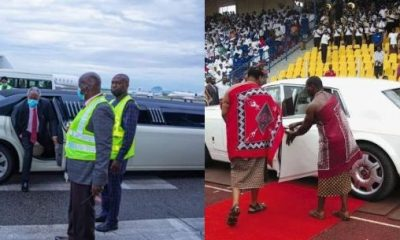 Kumuyi's Limo, King Of 'Poor' Swaziland' Cars, Adeboye's Chopper, Tiwa's RR, Ooni's Bentley, News In September You Missed - autojosh