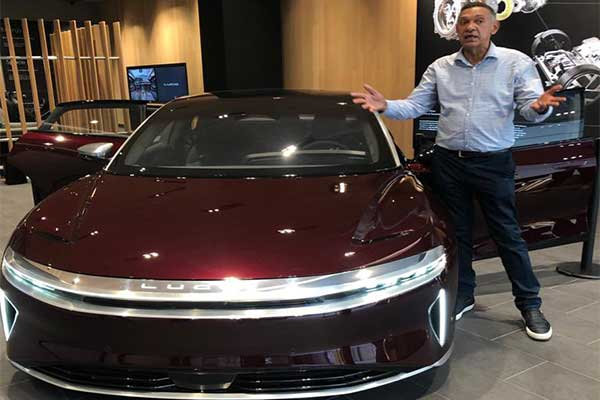 Ben Bruce's 2022 Lucid Air Electric Car Has A Record-breaking 520-miles Of Range Per Charge - autojosh