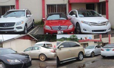 EFCC Arrest Naira-throwing Yahoo Boys In Benin, Seizes 13 Cars, Including 7 Lexus', 3 Mercedes - autojosh