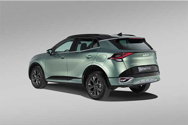 European Market Gets Short Wheel Base Version Of The 2023 Kia Sportage