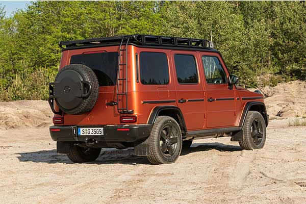 Mercedes-Benz Gives G-Wagon The Professional Treatment
