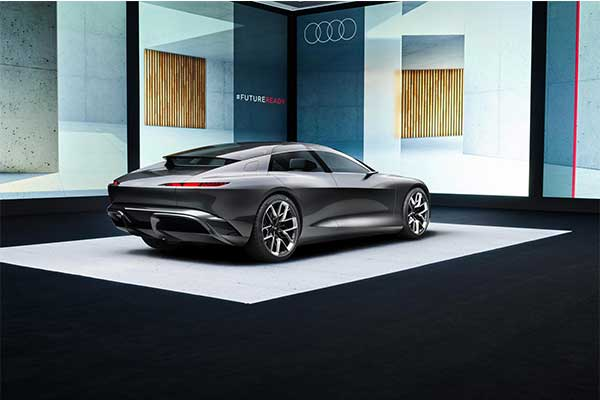 Want A Private Jet On Land? Then The Audi GrandSphere (Concept) Is For You