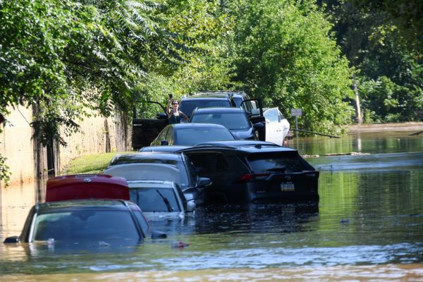 Vehicles, Roads & Houses Remain Underwater In United States Due To Rainfall & Floods Caused By Hurricane Ida - autojosh