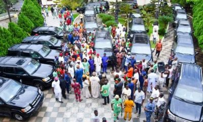 Senator Ifeanyi Uba Gift 20 SUVs To Traditional Rulers In Anambra - autojosh