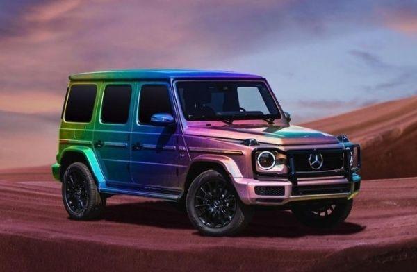 Mercedes Celebrates Lesbian, Gay, Bisexual, Transgender (LGBT) Pride With Rainbow Finished G-Wagon - autojosh